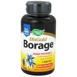 BORAGE OIL 1300MG  60 SOFTGEL