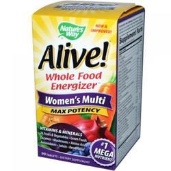 ALIVE! WOMENS  90 TABLET