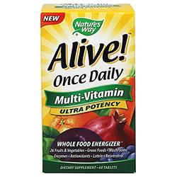 ALIVE! ONCE DAILY ULTRA  60 TABLET