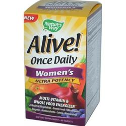 ALIVE! ONCE DAILY WOMEN'S ULTRA  60 TABLET