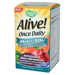 Alive Once Daily Mens 50+ Ultra  60 tablet