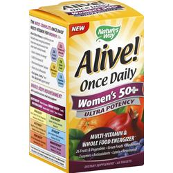 ALIVE! ONCE DAILY WOMEN'S 50+ ULTRA  60 TABLET