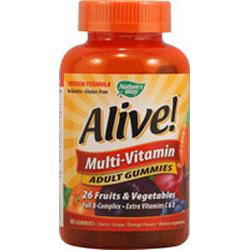 ALIVE! ADULT MULTI-VITAMIN GUMMIES  90 CHEW
