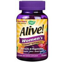 ALIVE! WOMEN'S GUMMY MULTI VITAMIN  75 CT