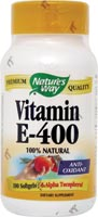 VIT E 400 IU D-ALPHA W/TOCOPHEROLS 100 SOFTGELS