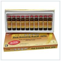 CHINESE RED GINSENG &ROYAL JELLY 10X10CC