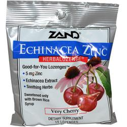 HERBAL LOZENGE CHERRY ECHINACEA ZINC  15 LOZ