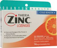COLD SEASON+ THERAZINC LOZENGES ORANGE  24 LOZ
