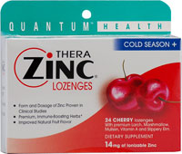 COLD SEASON+ THERAZINC LOZENGES CHERRY  24 LOZ