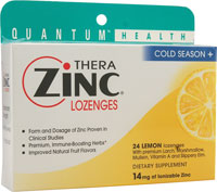 COLD SEASON+ THERAZINC LOZENGES LEMON  24 LOZ