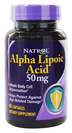 ALPHA LIPOIC ACID 50MG  60 CAP