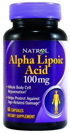 ALPHA LIPOIC ACID 100MG 60 CP