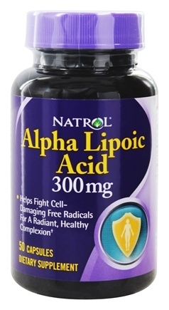 ALPHA LIPOIC ACID 300MG 50 CAP