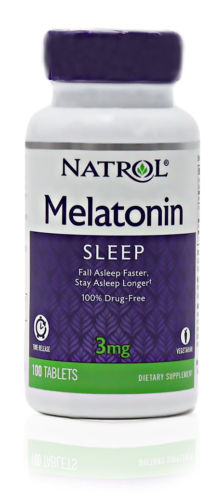 MELATONIN 3MG TIME RELEASE  100 TAB