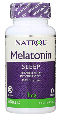 MELATONIN, 1 MG 90 TAB
