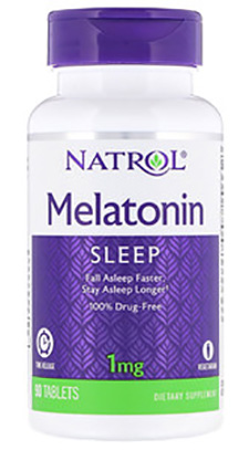 MELATONIN 1MG TIME RELEASE 90 TB