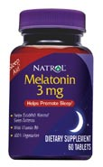 MELATONIN 3MG  60 CP