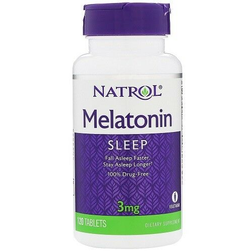 MELATONIN 3MG  120 CP