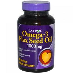 FLAXSEED OIL 1000MG 90 SOFTGEL