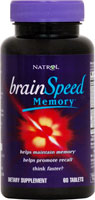 BRAINSPEED MEMORY 60 TABS