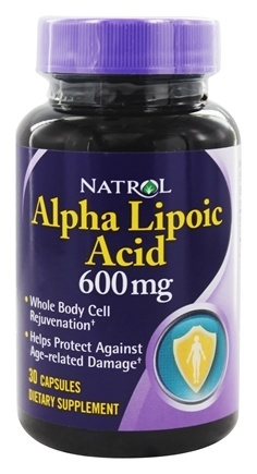 ALPHA LIPOIC ACID 600MG 30 CAPS