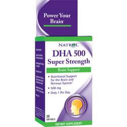 DHA 500 SUPER STRENGTH 30 SGEL