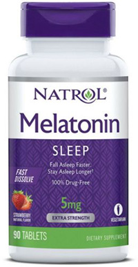 MELATONIN 5MG FAST DISSOLVE STAWBERRY  90 TAB