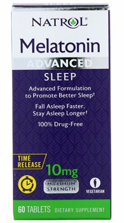 ADVANCED SLEEP MELATONIN 10MG  60 TAB