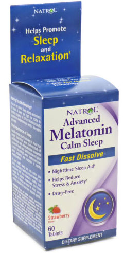 ADVANCED MELATONIN PLUS  60 TAB