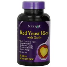 RED YEAST RICE WITH GARLIC  60 TAB