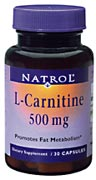 L-CARNITINE 500MG  30 CAP