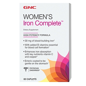 WOMEN'S IRON COMPLETE, CAPLETS, 60 TABLETS