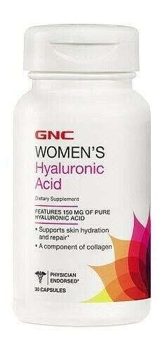 WOMEN'S HYALURONIC ACID, 150MG  30 CAPS
