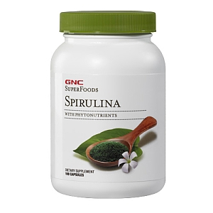 SuperFoods Spirulina 100 Caps
