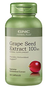 Herbal Plus Grape Seed Extract 100 mg 100Caps