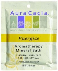 Mineral Bath Energizing Lemon 3 oz