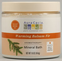 Mineral Bath Warming Fir Balsam 16 oz
