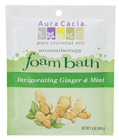 Aromatherapy Foam Bath Ginger Mint 2.5 oz