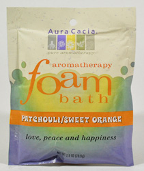 Aromatherapy Foam Bath Patchouli/Orange 2.5 oz