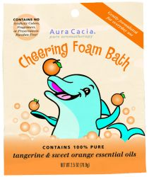 Kids Aromatherapy Foam Bath Cheering 2.5 oz