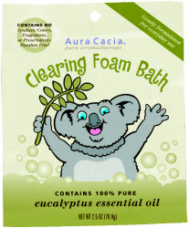 Kids Aromatherapy Foam Bath Clearing 2.5 oz