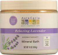 Mineral Bath Relaxing Lavender 16 oz