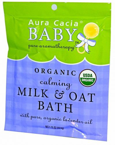 Calming Milk and Oat Bath Certified Organic 1.75 oz