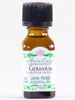 Essential Oil Geranium (pelargonium graveolens) 0.5 oz