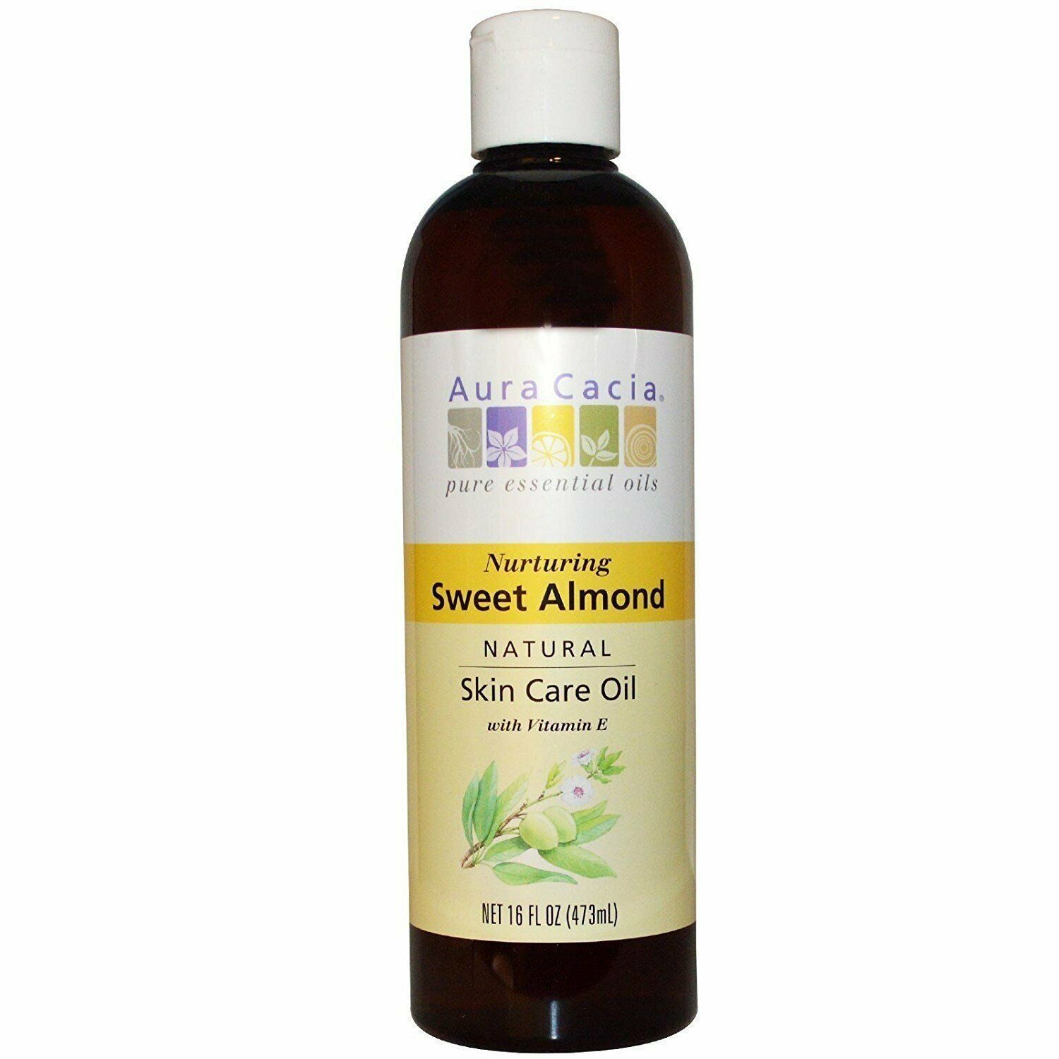 Pure Skin Care Oil Sweet Almond 16 oz