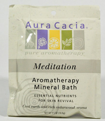 Mineral Bath Meditating Cedarwood 2.5 oz