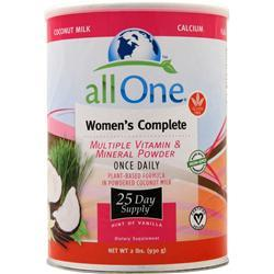 ALL ONE WOMEN'S COMPLETE VANILLA  2 LB