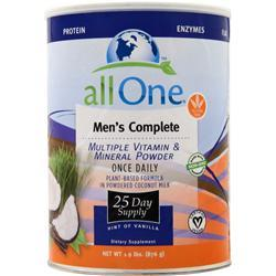 ALL ONE MEN'S COMPLETE VANILLA  1.9 LB