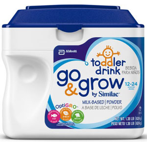 Similac Go& Grow Milk-Based Powder 12-24 Months 1.38 LB