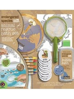 ENDANGERED SPECIES ANIMAL RESCUE BATH SET (SMALL)  2 OZ
